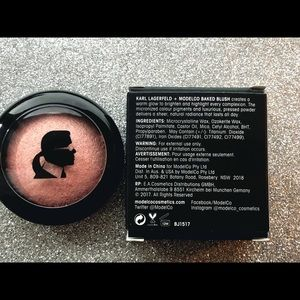 Model CO x Karl Lagerfeld Baked Blush by Model Co #18